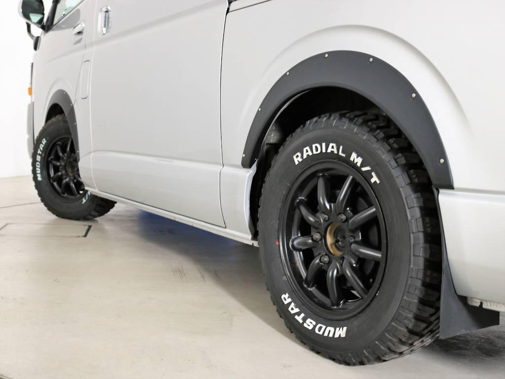 MUDSTAR RADIAL A/T   トヨタ ハイエース 2.7 GL ロング ミドルルーフ CoastLines