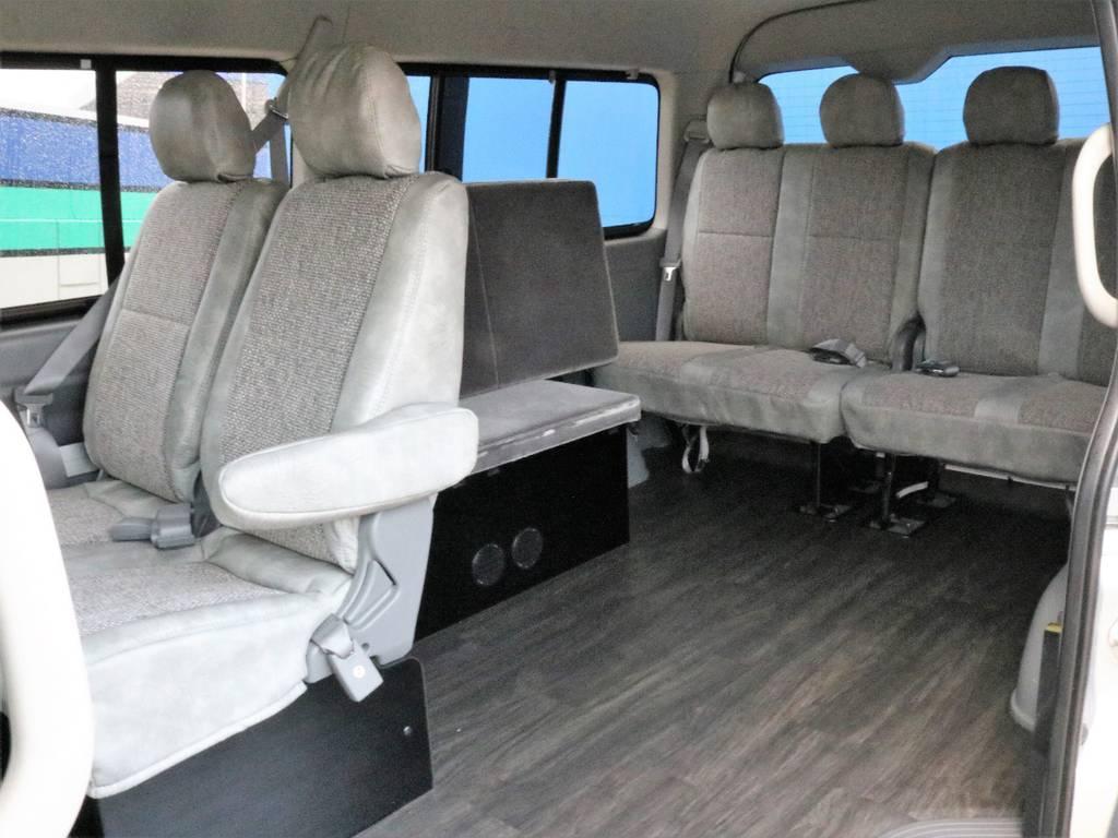 シートカバーが入荷しました!価格は据え置きです!ベッドマットは収納できます。   トヨタ ハイエース 2.7 GL ロング ミドルルーフ CoastLines