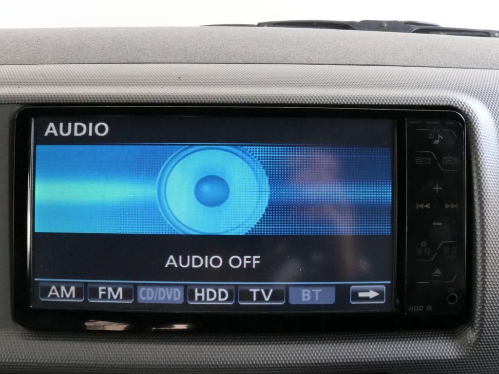 トヨタ純正地デジ対応HDDナビ!! | トヨタ ハイエース 2.7 GL ロング ミドルルーフ CoastLines ベットキット付