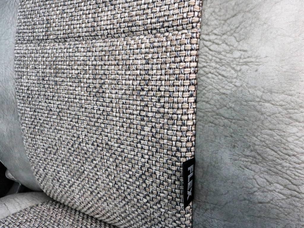 シートカバーの素材もいいですよ!! | トヨタ ハイエース 2.7 GL ロング ミドルルーフ CoastLines ベットキット付