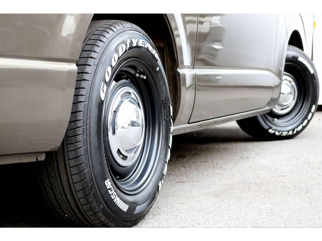 Dean16インチアルミ!GOODYEARタイヤ! | トヨタ ハイエースバン 2.0 スーパーGL ロング CoastLines