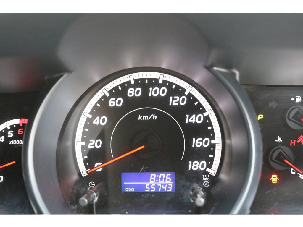 走行距離も55000km台の1台ですよ! | トヨタ ハイエースバン 2.0 スーパーGL ロング CoastLines