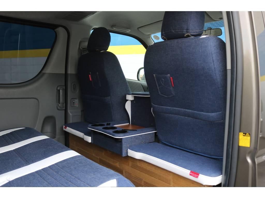 セカンドテーブル! | トヨタ ハイエースバン 2.0 スーパーGL ロング CoastLines