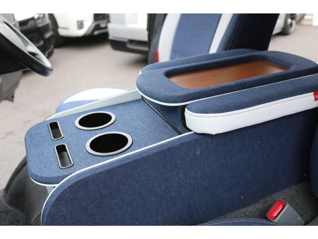 コンソールBOX | トヨタ ハイエースバン 2.0 スーパーGL ロング CoastLines