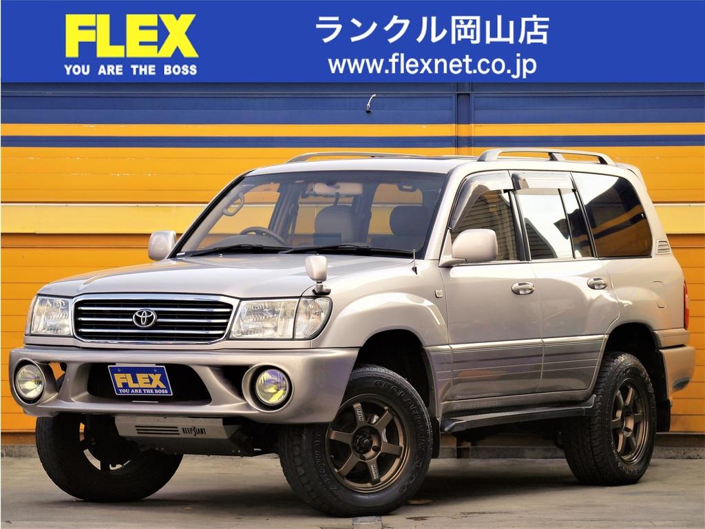ランドクルーザー1004.7 VXリミテッド Gセレクション 4WD ランドクルーザー100 VX-LTD Gセレ 4700G  【リフトアップ】【レイズホイール】