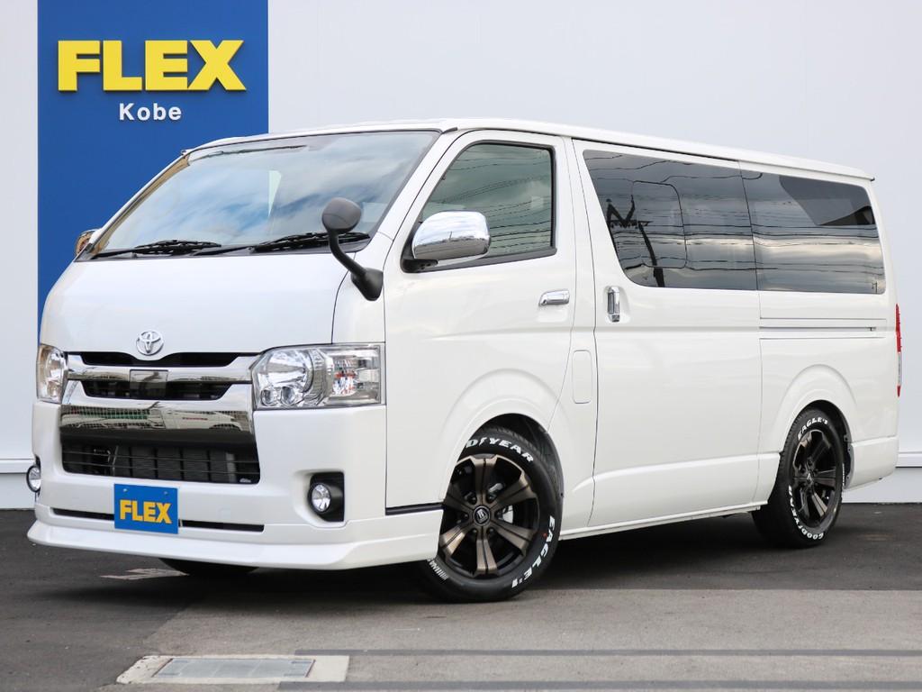 新車未登録 ハイエースバン S-GL DPⅡ DT2WD FLEXオリジナル内装アレンジ【Ver4】が完成!