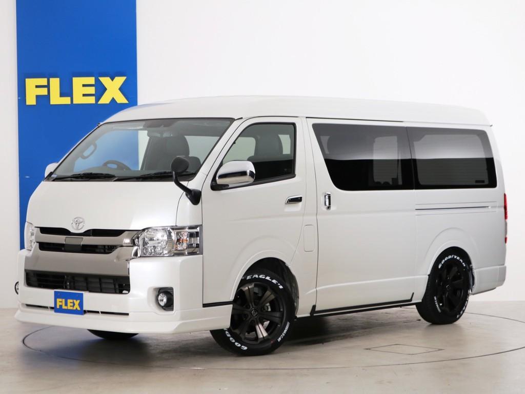 新車未登録 ハイエースバン S-GL DPⅡ ガソリン4WD FLEX内装アレンジ【アレンジFU-W】
