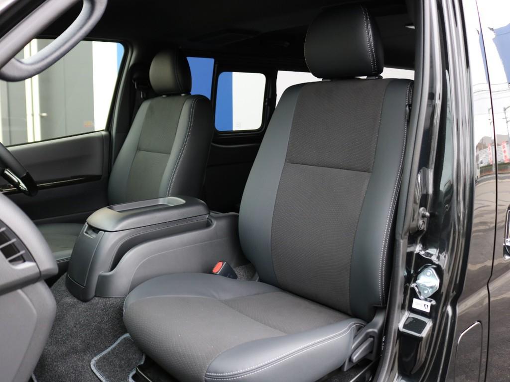 ダークプライム専用のハーフレザーシートです! ハーフレザーシートのまま使用するのも、追加でレザー調シートカバーを装着して保護するのも貴方次第!