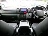 平成28年式 レジアスエースバン ダークプライム特別仕様車 2.0ガソリン2WD 走行距離5万7千km FLEXの中古車は全車2年間、走行距離無制限の無料保証付きなので安心です!
