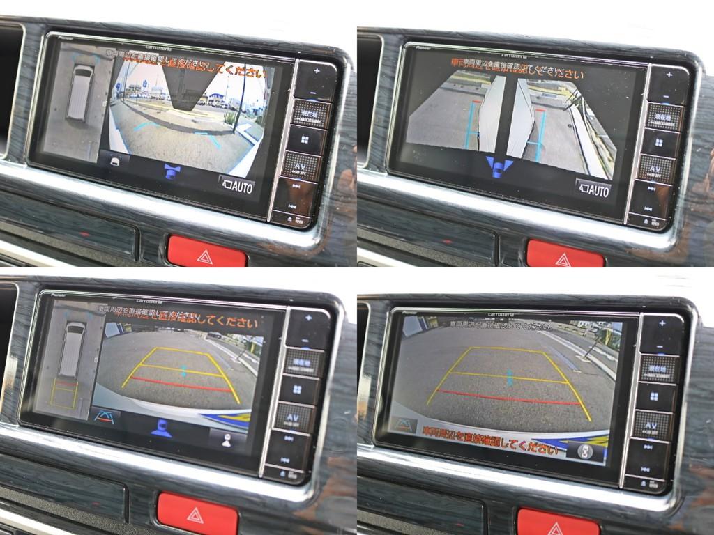 カロッツェリアAVIC-RW810-Dフルセグ地デジナビを搭載! バックカメラと連動しており、駐車時にもドライバーをサポートします。