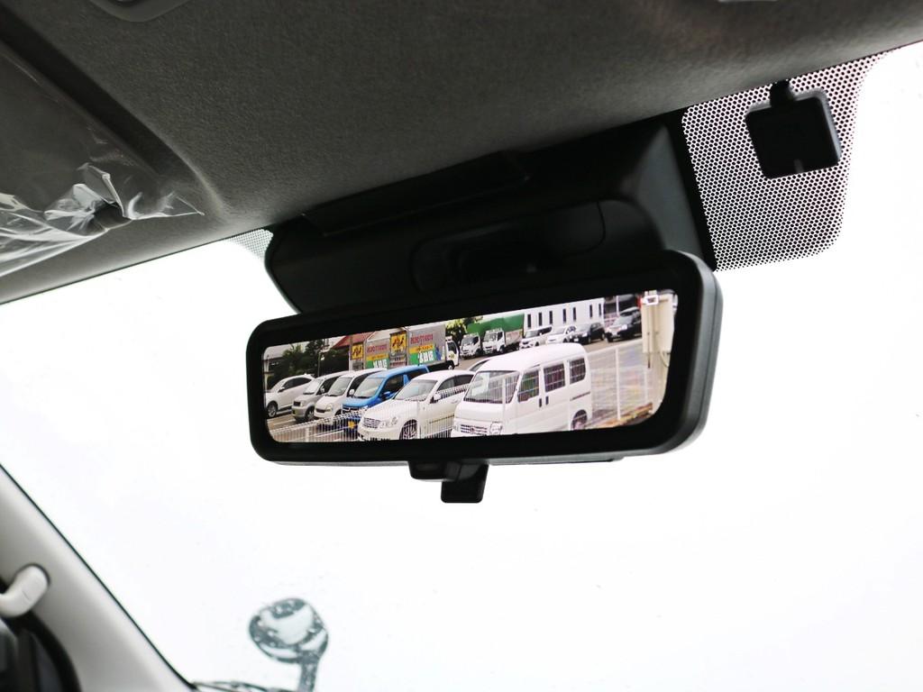 デジタルインナーミラー完備! 後方の安全確認をカメラの映像でサポートします。さあ、6型ワゴンGLコンプリートナビパッケージでお出かけしましょう! お問い合わせはFLEX神戸店まで! お早めに!