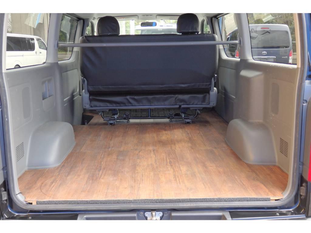 広々とした荷室です。 | トヨタ レジアスエース 2.7 スーパーGL ワイド ミドルルーフ ロングボディ 4WD リフトアップ