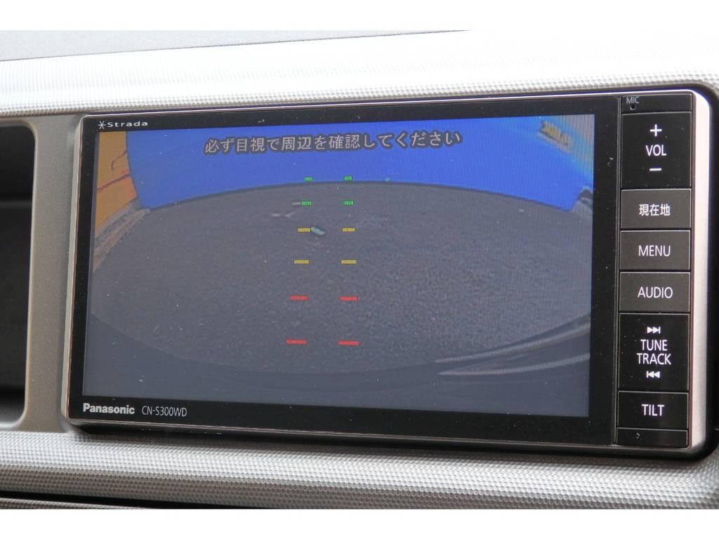 バックモニター装着済みでうれしいですね。 | トヨタ レジアスエース 2.7 スーパーGL ワイド ミドルルーフ ロングボディ 4WD リフトアップ