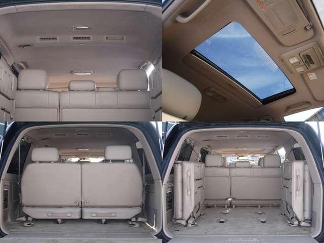 荷室も広々お使いいただけます☆ | トヨタ ランドクルーザーシグナス 4.7 4WD
