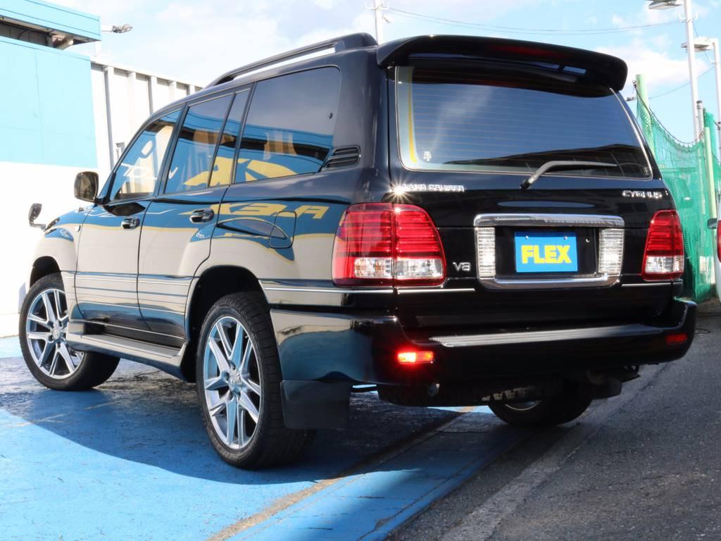 もちろんここからの追加カスタムもご相談下さい☆ | トヨタ ランドクルーザーシグナス 4.7 4WD