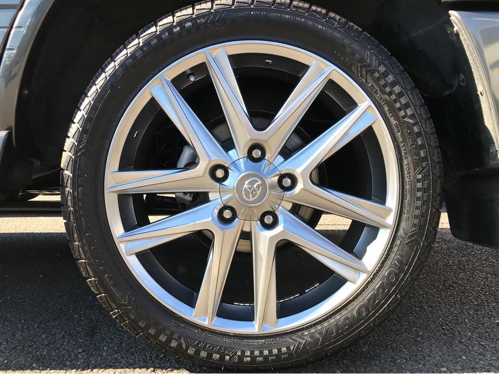 新品LXタイプ22インチAW、タイヤ☆ | トヨタ ランドクルーザーシグナス 4.7 4WD
