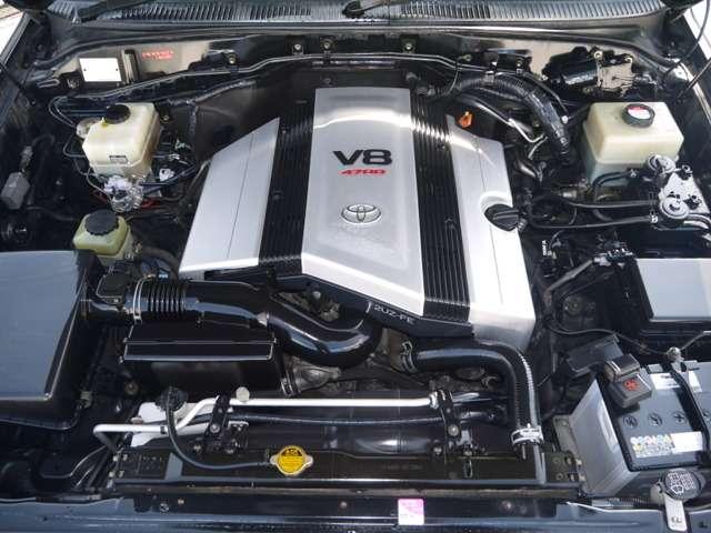 エンジンも快調☆末永くお乗り頂けます☆ | トヨタ ランドクルーザーシグナス 4.7 4WD