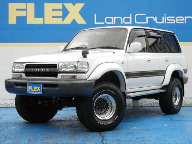 VX-LTD 4500G ホワイトオールペイント 3インチUP 社外16インチAW BFG315ATタイヤ 背面レス ブラックシートカバー