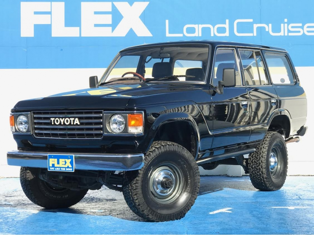 【名車】VX ディーゼルターボ、NEWペイントブラック、丸目、平屋根換装、3インチリフトアップ、ブラックシートカバー