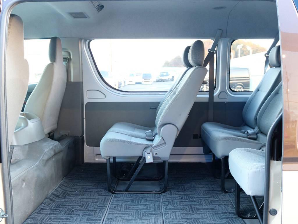 電動パワースライドドア搭載で、乗り降りも楽々ですよ♪ | トヨタ ハイエース 2.7 DX ロング ミドルルーフ 4WD エアロツアラー
