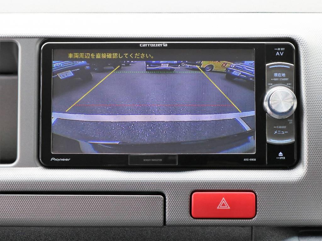 便利なバックカメラ! | トヨタ レジアスエース 2.7 スーパーGL ワイド ミドルルーフ ロングボディ CoastLines