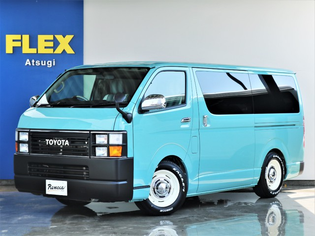 【Renoca Coast Lines・20年2型モデル2.0ガソリン2WD】ライトグリーン&デニムパッケージ!