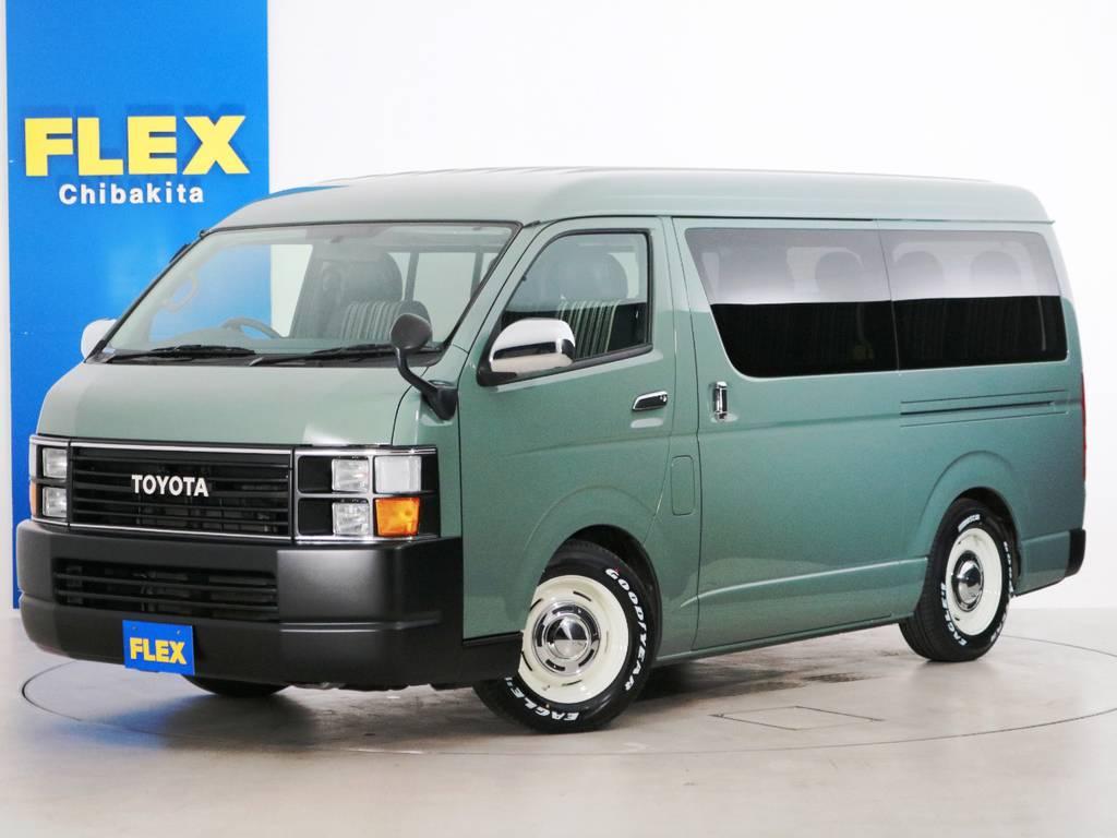 H22年 ハイエースワゴンGL ガソリン2WD Renoca CoastLines 内装アレンジ【アレンジR1】!