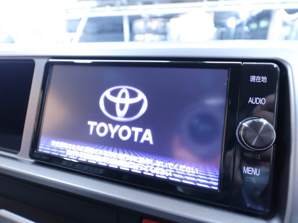Toyota純正ナビゲーション!