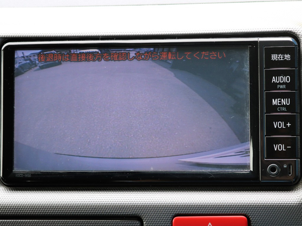 バックモニター連動加工済みですので運転が苦手な方でも安心して駐車可能です☆