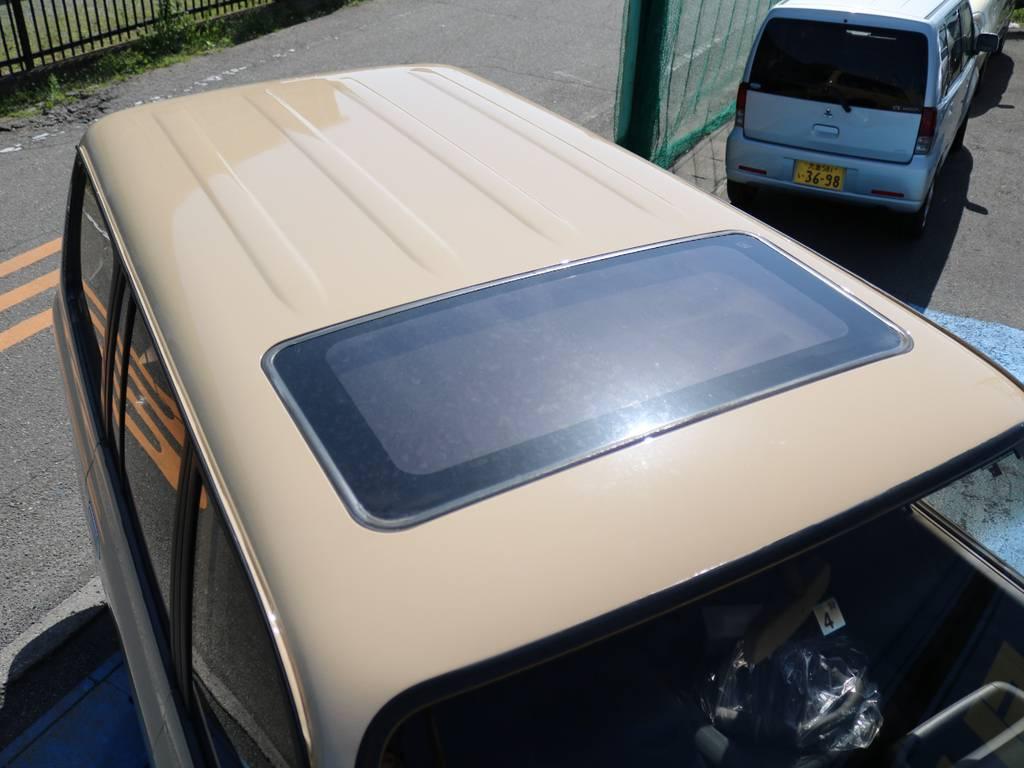 ルーフ面もキレイに保たれております☆ | トヨタ ランドクルーザー80 4.2 VXリミテッド ディーゼルターボ 4WD