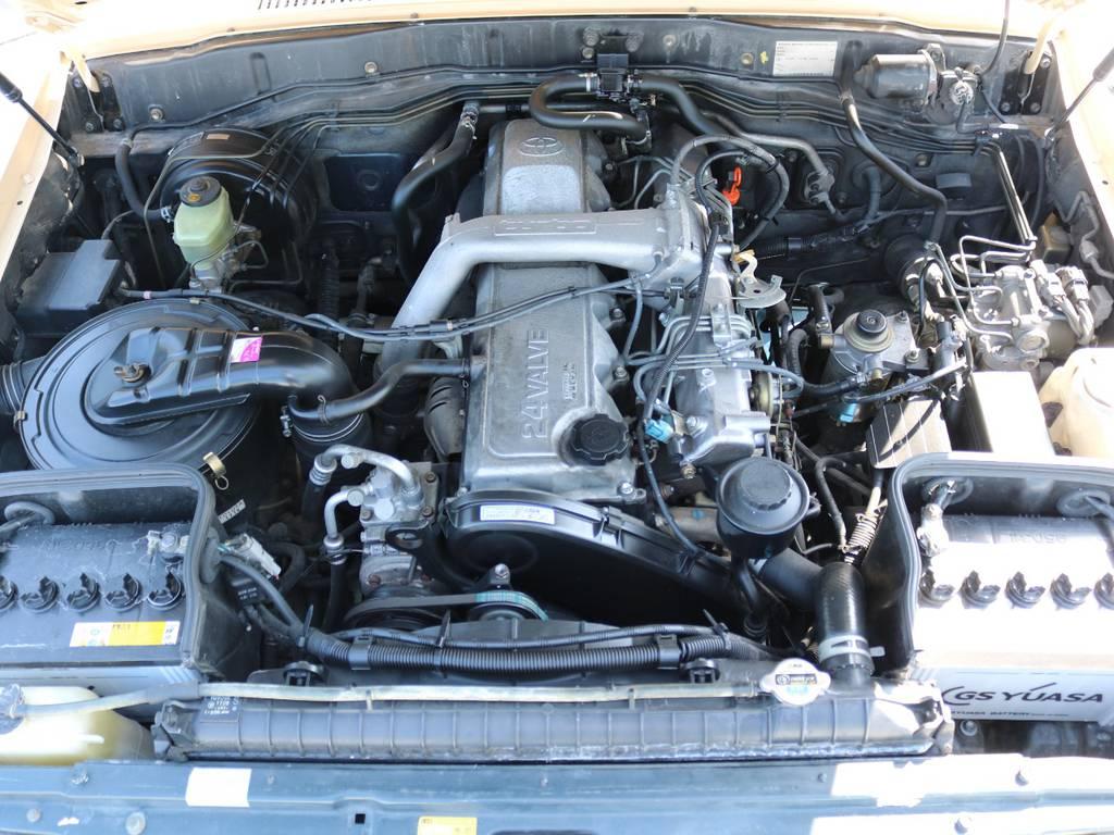 エンジンも快調☆末永くお乗り頂けます☆ | トヨタ ランドクルーザー80 4.2 VXリミテッド ディーゼルターボ 4WD