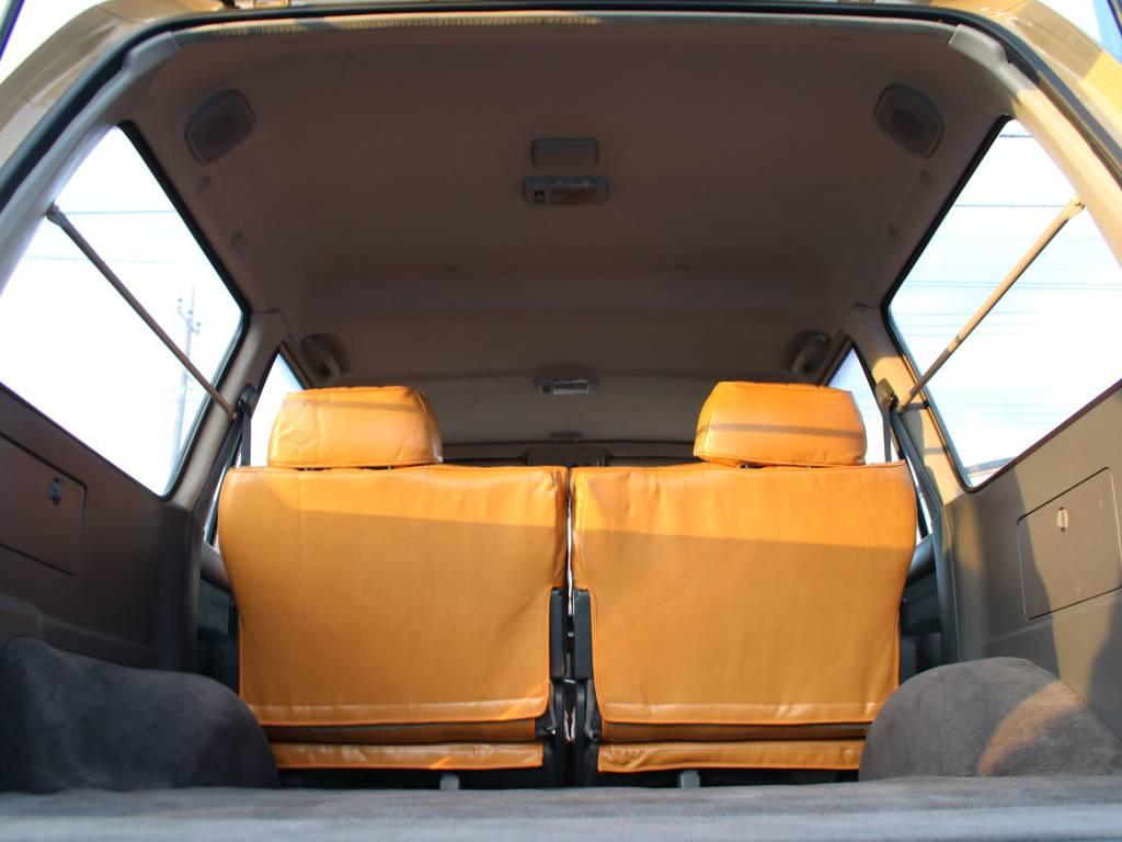 天張りもキレイに保たれております☆ | トヨタ ランドクルーザー80 4.2 VXリミテッド ディーゼルターボ 4WD RENOCA 新品ナビ、Bカメラ