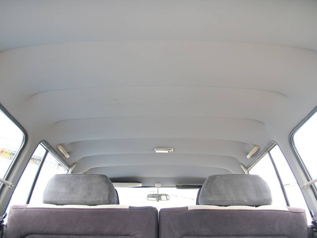 天張りもキレイに保たれております☆ | トヨタ ランドクルーザー60 4.0 VX ハイルーフ ディーゼルターボ 4WD VX