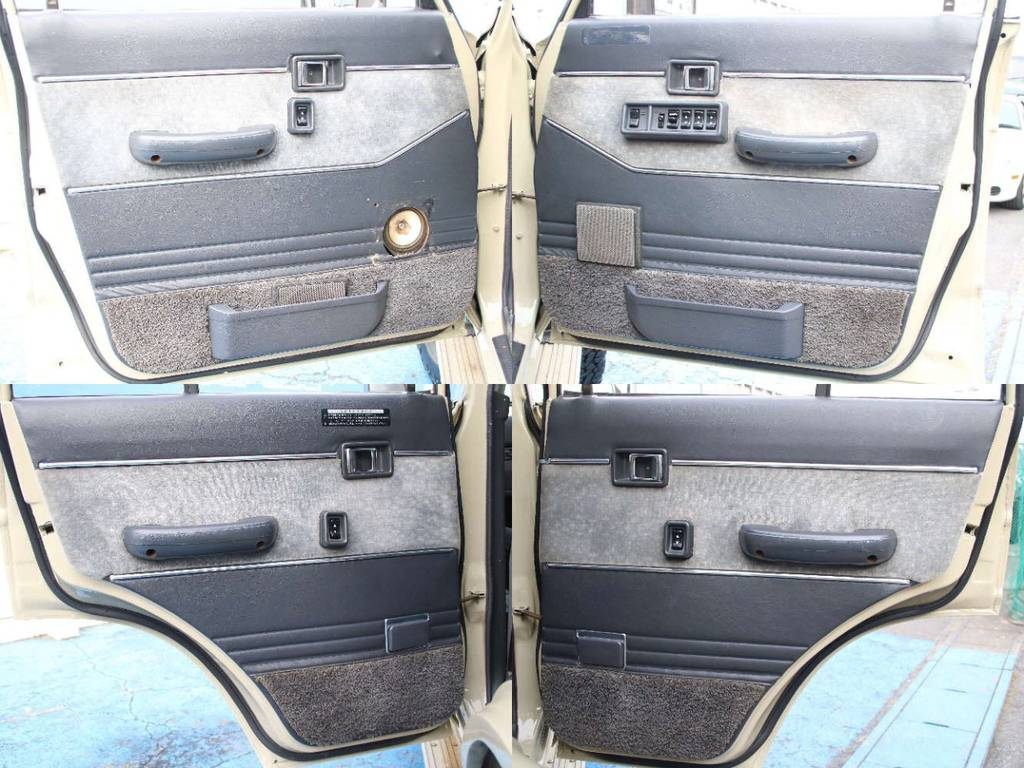 各所ドア内張もキレイに保たれております☆ | トヨタ ランドクルーザー60 4.0 VX ハイルーフ ディーゼルターボ 4WD VX
