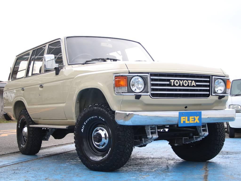 希少ディーゼルターボマニュアルのLC60、新入庫です☆ | トヨタ ランドクルーザー60 4.0 VX ハイルーフ ディーゼルターボ 4WD VX