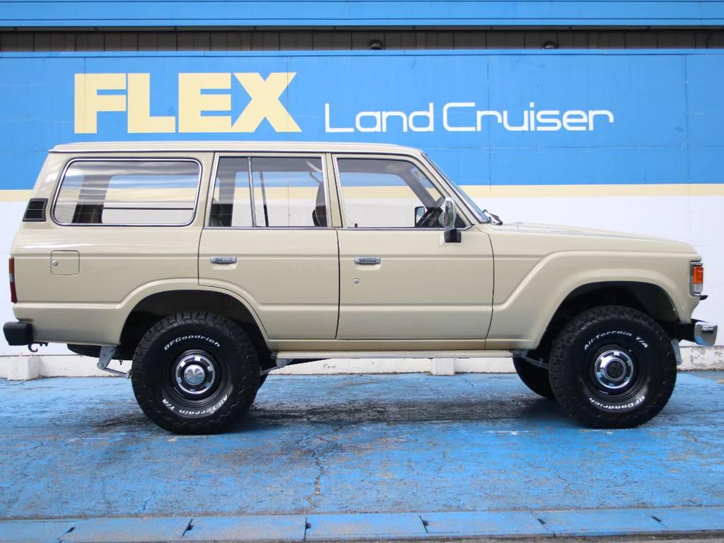 右側面もキレイに保たれております☆ | トヨタ ランドクルーザー60 4.0 VX ハイルーフ ディーゼルターボ 4WD VX
