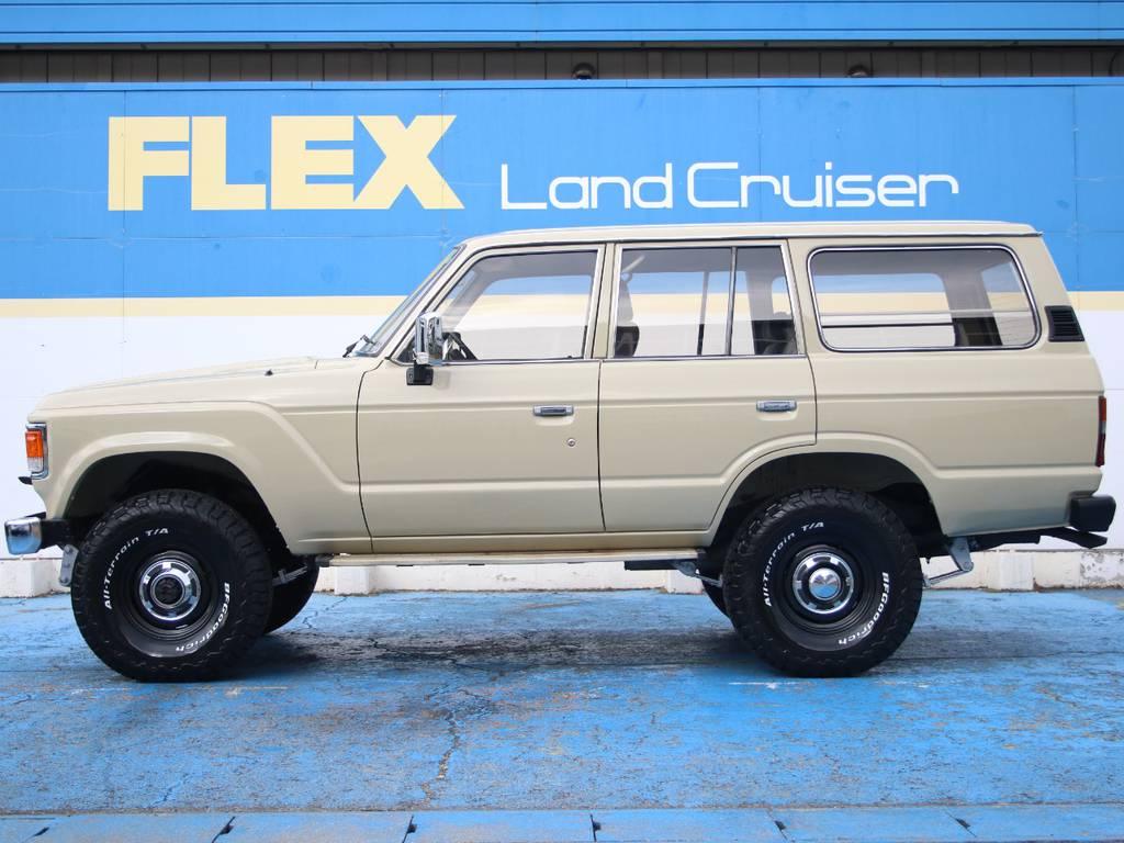 左側面もキレイに保たれております☆ | トヨタ ランドクルーザー60 4.0 VX ハイルーフ ディーゼルターボ 4WD VX