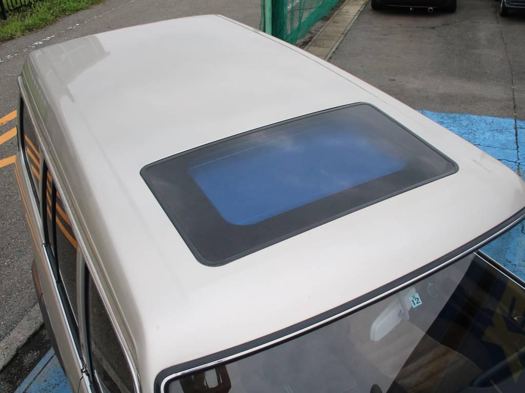 ルーフホワイトNEWペイント☆   トヨタ ランドクルーザー60 4.0 VX ハイルーフ ディーゼルターボ 4WD