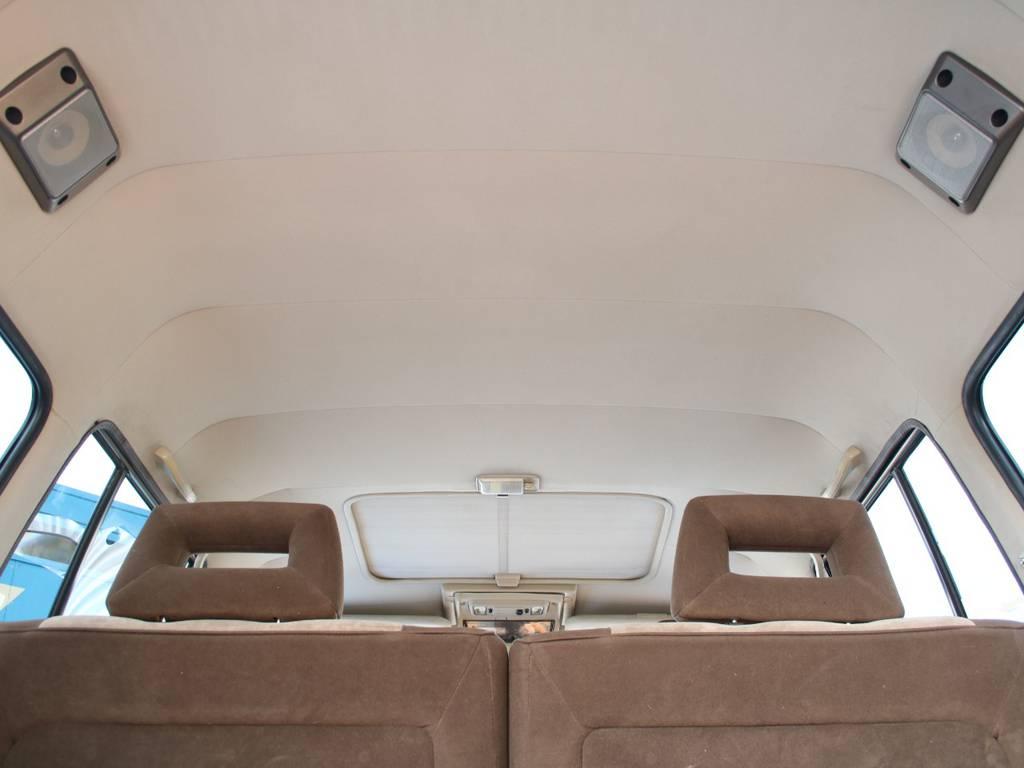 天張りもキレイに保たれております☆   トヨタ ランドクルーザー60 4.0 VX ハイルーフ ディーゼルターボ 4WD