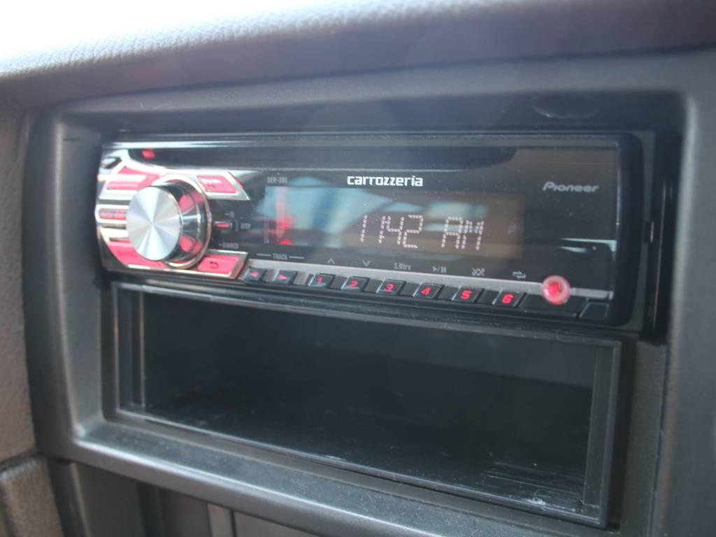 カロッツェリアオーディオ☆   トヨタ ランドクルーザー60 4.0 VX ハイルーフ ディーゼルターボ 4WD