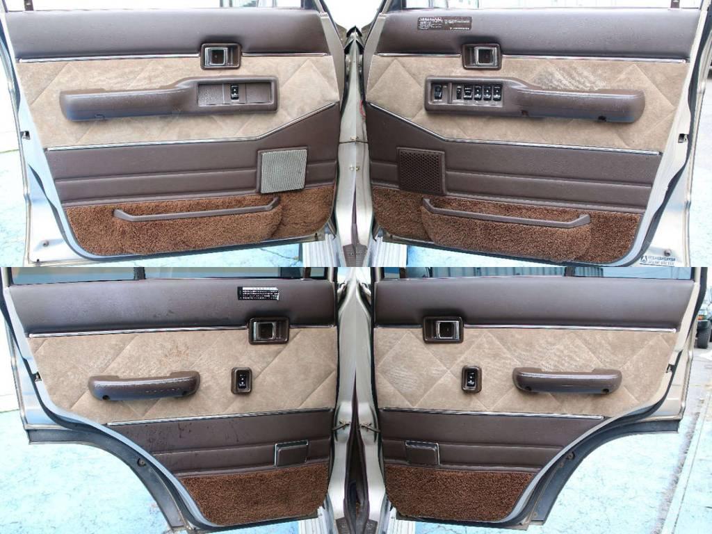 各所ドア内張りもキレイに保たれております☆   トヨタ ランドクルーザー60 4.0 VX ハイルーフ ディーゼルターボ 4WD