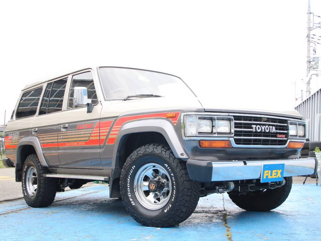 極上車☆LC60新入庫です☆   トヨタ ランドクルーザー60 4.0 VX ハイルーフ ディーゼルターボ 4WD