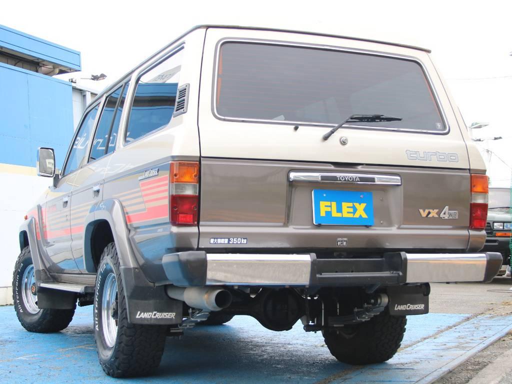 もちろんここからのカスタムもご相談下さい☆   トヨタ ランドクルーザー60 4.0 VX ハイルーフ ディーゼルターボ 4WD