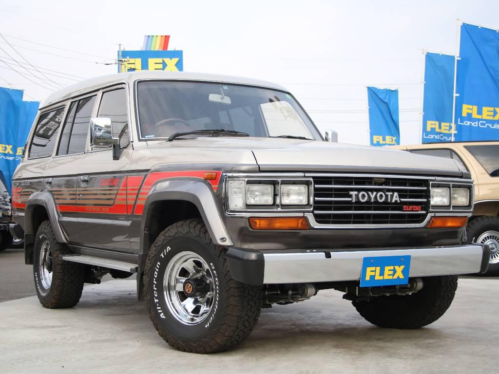 極上車☆LC60新入庫です☆ | トヨタ ランドクルーザー60 4.0 VX ハイルーフ ディーゼルターボ 4WD
