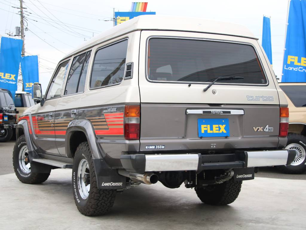 もちろんここからのカスタムもご相談下さい☆ | トヨタ ランドクルーザー60 4.0 VX ハイルーフ ディーゼルターボ 4WD