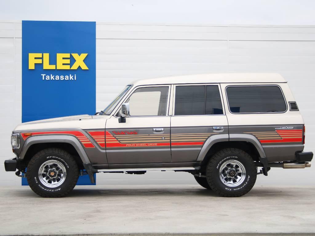 左側面もキレイに保たれております☆ | トヨタ ランドクルーザー60 4.0 VX ハイルーフ ディーゼルターボ 4WD