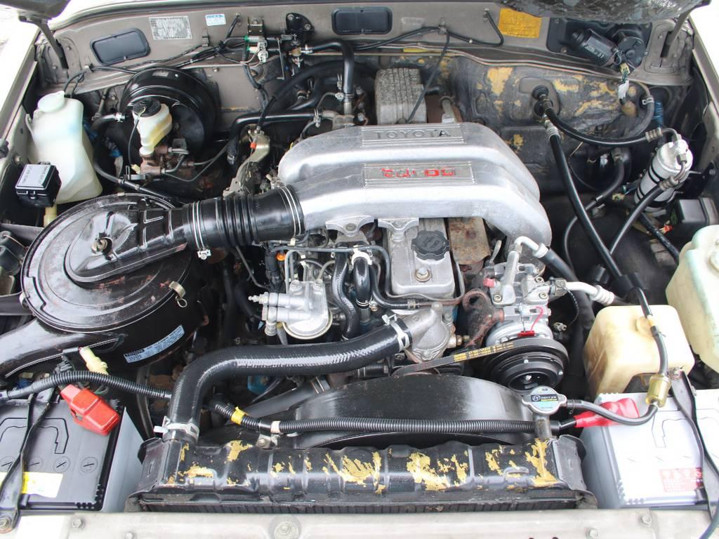 エンジンも快調☆末永くお乗り頂けます☆ | トヨタ ランドクルーザー60 4.0 VX ハイルーフ ディーゼルターボ 4WD