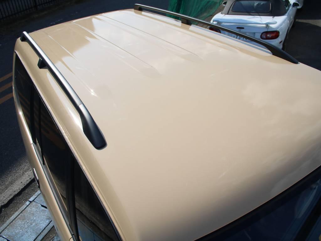 ルーフ面もキレイに保たれております☆ | トヨタ ランドクルーザープラド 2.7 TX リミテッド 4WD