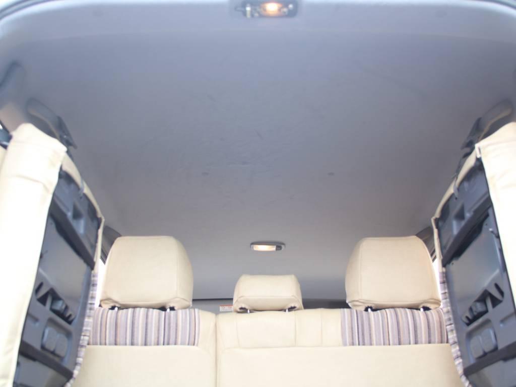 天張りもキレイに保たれております☆ | トヨタ ランドクルーザープラド 2.7 TX リミテッド 4WD
