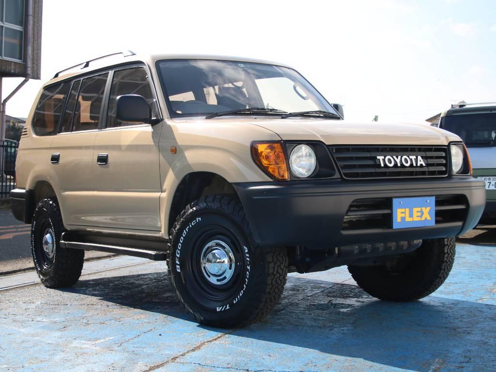 人気急上昇中のランクルプラド95、新入庫です☆ | トヨタ ランドクルーザープラド 2.7 TX リミテッド 4WD